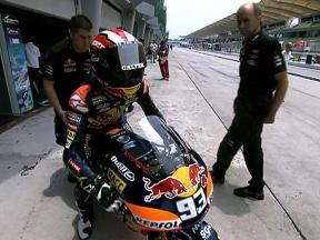 Sepang 2010 - 125cc - FP1 - Highlights