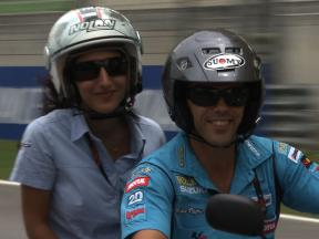 A lap of Sepang with Loris Capirossi