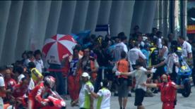 O piloto da Fiat Yamaha levou a melhor sobre Nicky Hayden e Andrea Dovizioso na qualificação para garantir a sexta pole position da época, posição a partir da qual vai tentar reclamar já a coroa de 2010. Ben Spies, Casey Stoner e Valentino Rossi qualificaram-se na segunda linha.