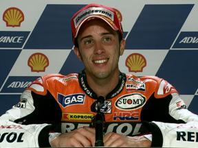 Sepang 2010 - MotoGP - QP - Interview - Andrea dovizioso
