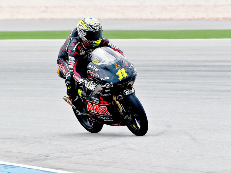 Sandro Cortese in action at Sepang
