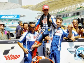 Jorge Lorenzo after QP at Sepang