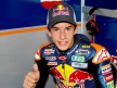 Marc Márquez in the Red Bull Ajo Motosport garage