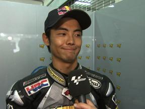 Sepang 2010 - MotoGP - Race - Interview - Hiroshi Aoyama