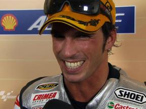 First ever Moto2 World Champion Toni Elías