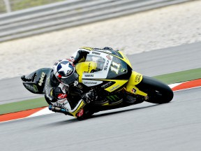Ben Spies in action at Sepang