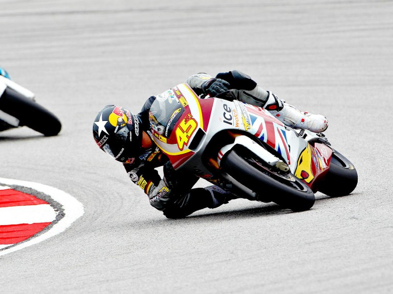 Scott Redding in action at Sepang