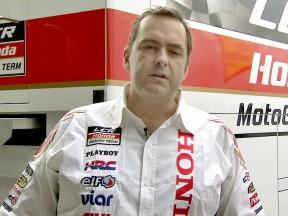 Honda's Christophe Bourguignon