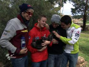 Maru Wildlife Park visit for MotoGP riders
