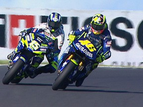 Best overtaking moves at Phillip Island