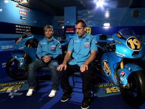 MotoGP experience: Álvaro Bautista and Tom O'Kane