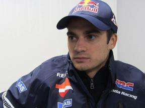 Pedrosa's return to action hampered by bad weathe