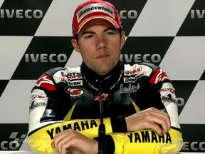 Phillip Island 2010 - MotoGP - QP - Interview - Ben Spies