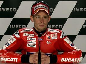 Phillip Island 2010 - MotoGP - QP - Interview - Casey Stoner