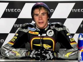 Phillip Island 2010 - Moto2 - QP - Interview - Scott Redding
