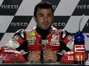 Phillip Island 2010 - Moto2 - QP - Interview - Mike di Meglio