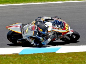 Scott Redding in action at Phillip Island