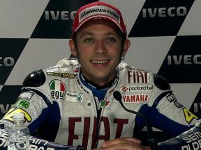 Phillip Island 2010 - MotoGP - Race - Interview - Valentino Rossi