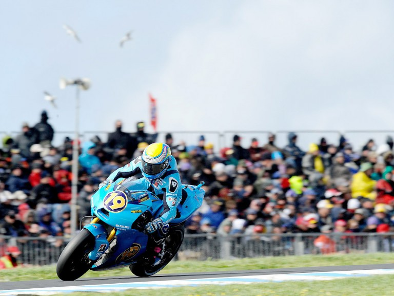 Alvaro Bautista on track at Phillip Island