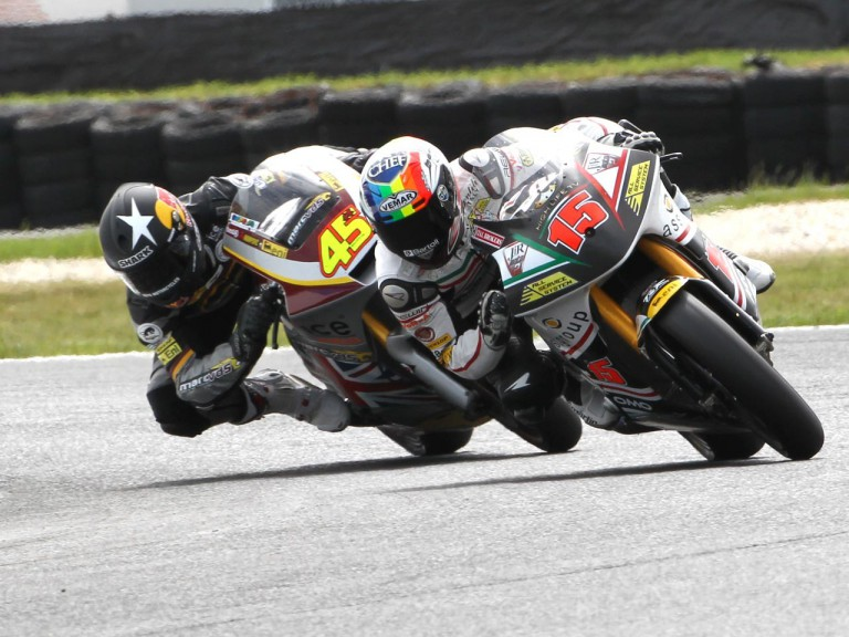 Deangelis and Redding riding head to head at Phillip Island