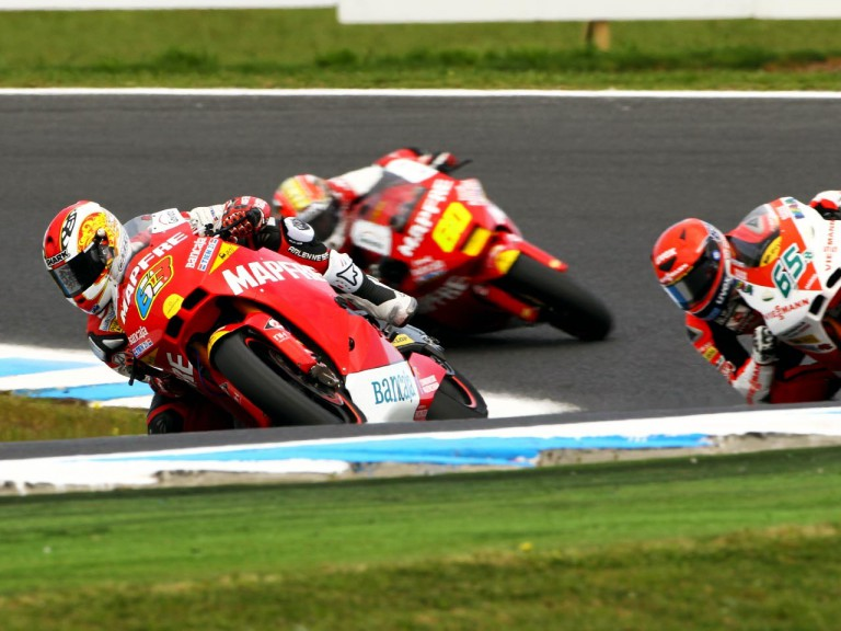 Dimeglio in action at Phillip Island