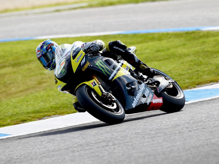 Colin Edwards in action at Phillip Island