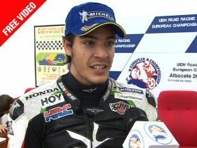 2010 - European Championship  - Superstock - Santiago Barragán