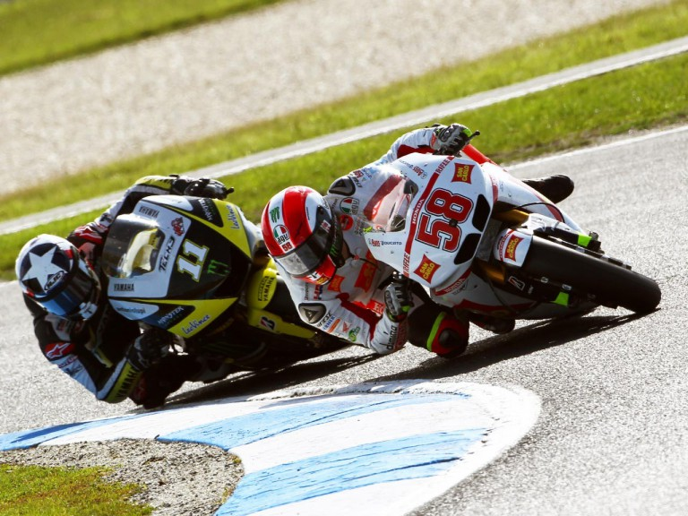 Simoncelli in action at Phillip Island