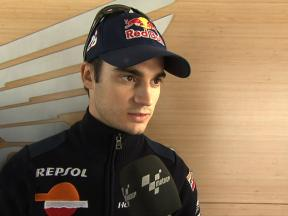 Pedrosa on his return to action