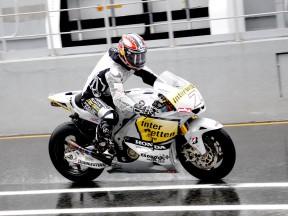 Hiroshi Aoyama on track at Estoril