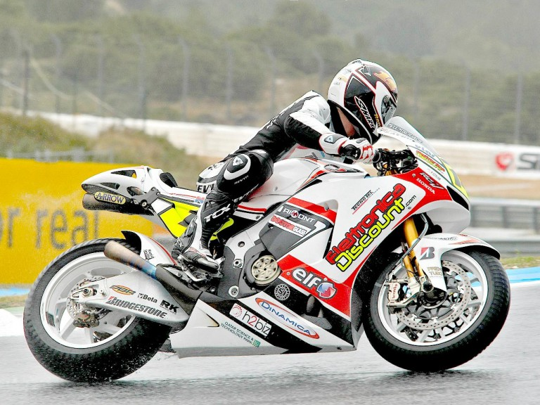Randy de Puniet in action at Estoril