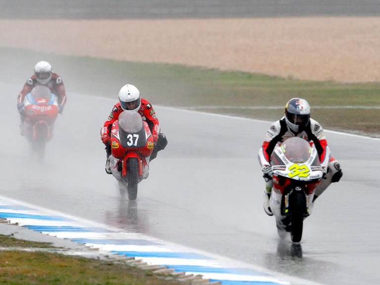 125cc Action at Estoril