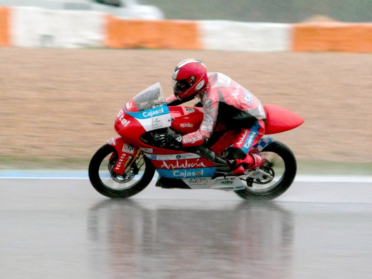 Alberto Moncayo on track at Estoril