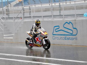 Scott redding in action at Estoril