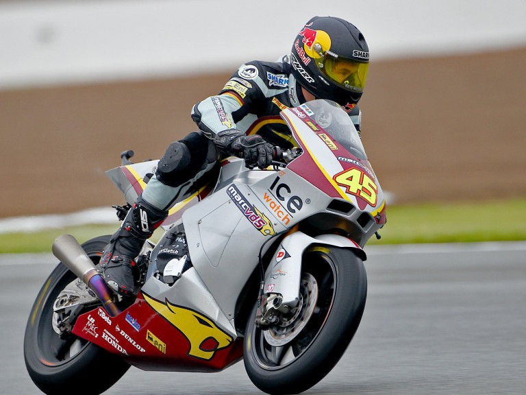 Scott Redding in action