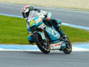 Bradley Smith in action at Motorland Aragón