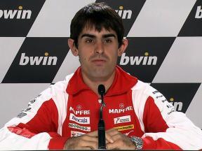Estoril 2010 - Moto2 - QP - Interview - Julian Simon