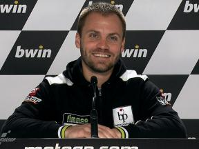 Estoril 2010 - Moto2 - QP - Interview - Gabor Talmacsi