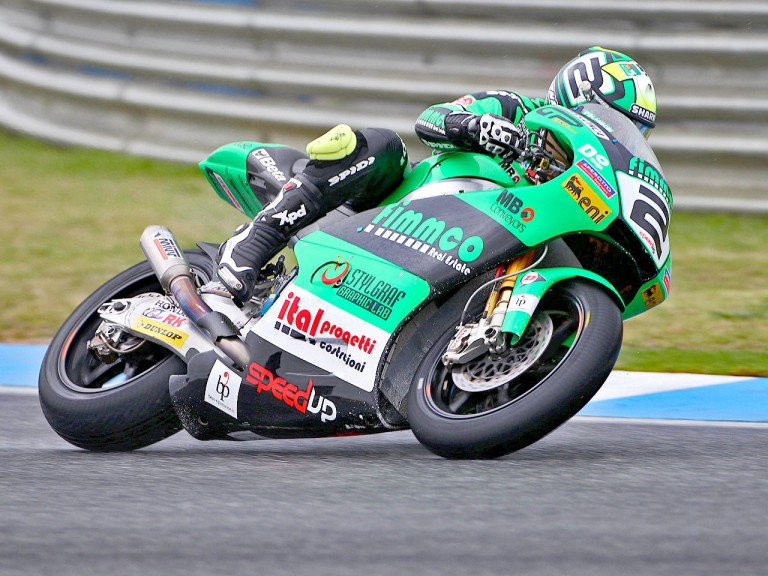 Gabor Talmacsi in action during FP3 at Estoril