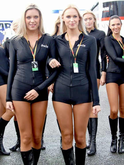 Paddock Girl at the bwin Grande Premio de Portugal