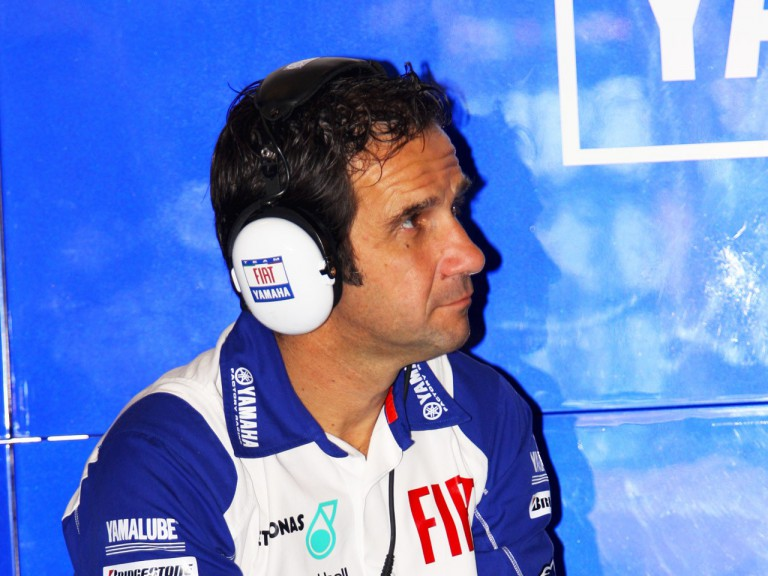 Fiat Yamaha Team Manager Davide Brivio