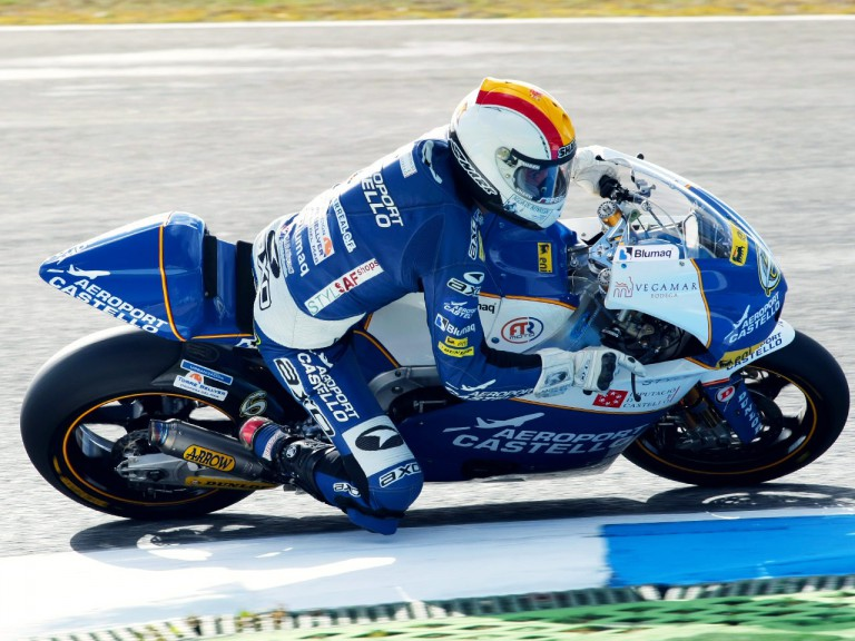 Alex Debon in action at Estoril