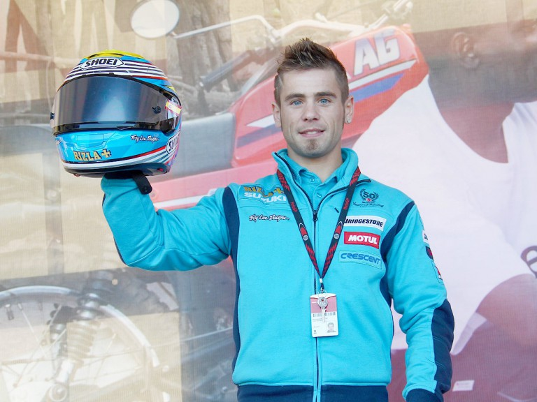 Alvaro Bautista supporting Day of Champions in Valencia
