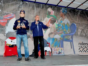 Dani pedrosa supporting Day of Champions in Valencia