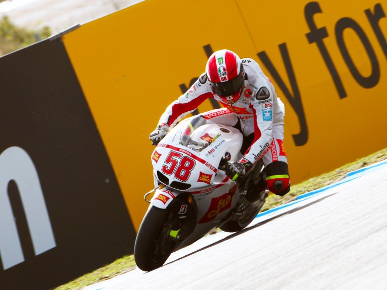 Simoncelli in action at Estoril