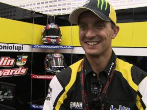 Edwards delighted to be in top three
