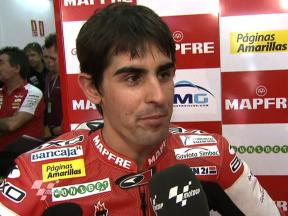 Simón prepares for runner-up push with good first sessions