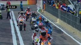O piloto da Ducati foi mais de meio segundo mais rápido que Jorge Lorenzo na primeira sessão de treinos livres para o Gran Premio Generali de la Comunitat Valenciana nesta manhã de sexta-feira.