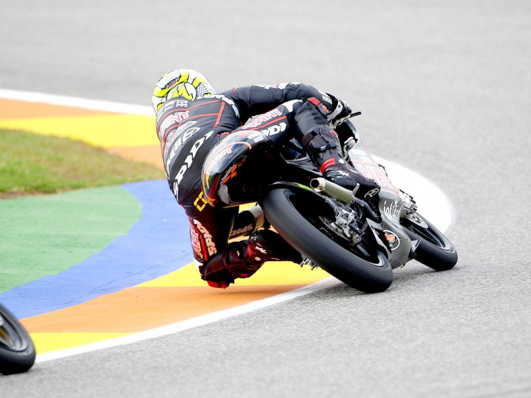 Sandro Cortese in action in Valencia