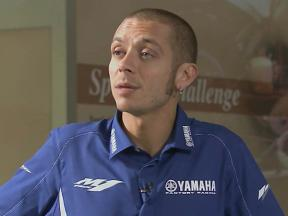 Rossi reviews the YZR-M1 evolution